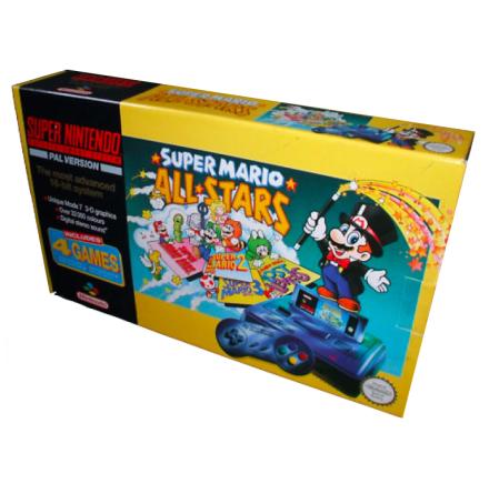 Super Nintendo Basenehet inkl Super Mario Allstars SCN