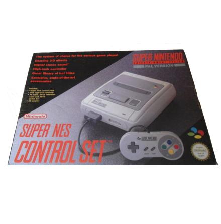 Super Nintendo Basenhet Control Set SCN