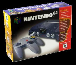Nintendo 64 basenhet Charcoal Grey original