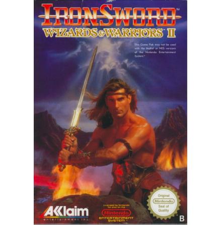Iron Sword - Wizards & Warriors II